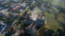 Photo aérienne par pilote du Languedoc Roussillon