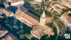 Photo aérienne par télépilote en nouvelle aquitaine