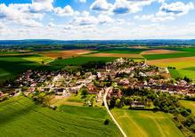 Photo aérienne pilote de drone a Compiègne dans l Oise Hauts de France