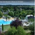 Photo aerienne promotionnel institutionnel pour camping