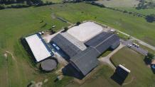 Photo aérienne territoire de Belfort en Franche-Comte