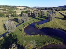 Photo aérinne par drone