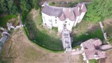 Photo château Harcourt, découvrir l'Eure en Normandie par pilote drone Evreux