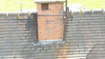 Photo d inspection aérienne de cheminée par drone