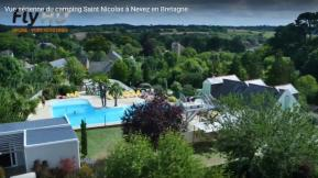 Photo de film promotionnel institutionnel pour camping