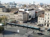 Photo de la ville de Bordeaux en vue aérienne par drone