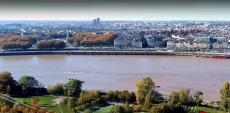 Photo de la ville de Bordeaux en vue aérienne