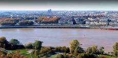 Photo de la ville de Bordeaux en vue aérienne