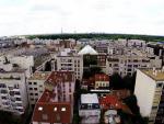 Photo de ville par drone