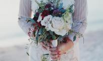 Photo mariage le bouquet de la mariée
