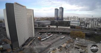 Photo par drone de Bagnolet