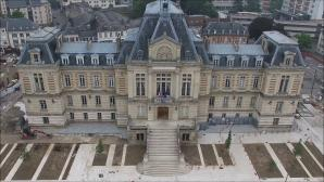 Photo par drone de la mairie Evreux