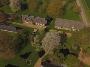 Photo propriété en vue aérienne par drone
