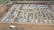 Photographie aérienne par drone de suivi de chantier Eure 27