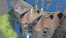 Photogrammétrie par drone, modélisation 3D en Normandie