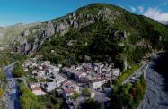 Photographie aerienne alpes maritimes en region provence alpes cote