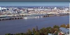 Photographie aérienne de Bordeaux