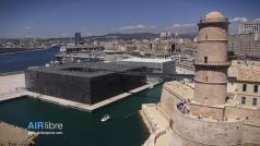 Photographie aérienne de Marseille par drone