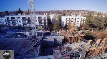 Photographie aérienne de suivi de chantier