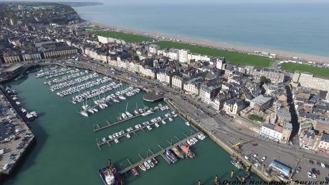 Photographie aérienne Normandie