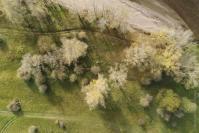 Photographie aérienne par drone a Orléans
