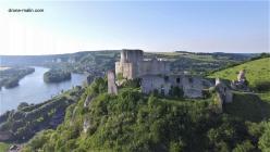 Photographie aérienne par drone château gaillard