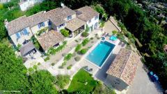 Photographie aérienne par drone d un propriété