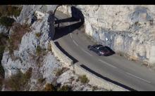 Photographie aérienne par drone dans les alpes maritimes