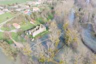 Photographie aerienne par pilote de drone a niort dans les deux sevres