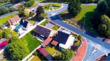 Photographie aérienne pilote de drone a Compiègne dans l Oise Hauts-de-France