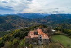 Photographie aérienne village département Hérault 34