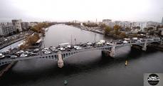 Photographie aérienne d'Asnières sur Seine