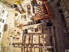 Photographie de contrôle chantier par drone vu du ciel