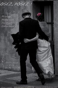 Photographie de mariage sur Vichy