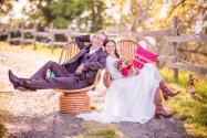Photographie des mariés par photographe professionnel