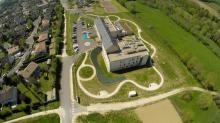 Photographie par pilote de drone sur Bourges