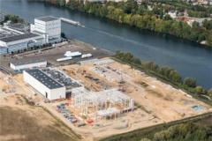 Pilote de drone sur Lille pour vue aérienne suivi travaux chantier