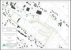 Plan topo réalisé a partir des données recueillies par drone