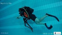 Plongeur sous marin en Normandie
