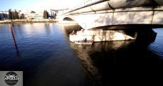 Pont de Suresnes vue du ciel de paris