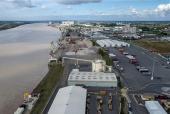 Port autonome de Bordeaux en vue aérienne par drone 1