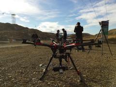 photo pilote de drone pour prise de vue aérienne en direct