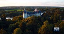 Photo aérienne château de la loir