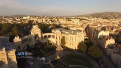 Prise de vue aérienne de Marseille