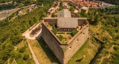 Prise de vue aérienne du patrimoine