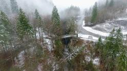 Prise de vue aérienne en drone par mauvais temps