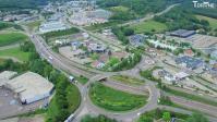 Prise de vue aérienne par drone sur Vesoul