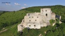 Prise de vue aérienne par drone chateau Gaillard 3