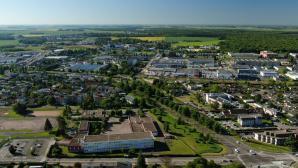 Prise de vue aérienne EVREUX par drone dans le ciel de Normandie