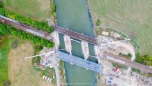 Prise de vue aérienne par drone dans le Morbihan en Bretagne